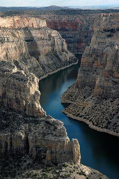 Big Horn Canyon, Wyoming.
