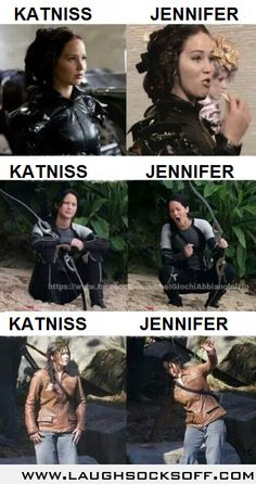 Katniss/Jennifer.