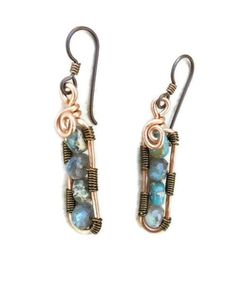 Hey, I found this really awesome Etsy listing at http://www.etsy.com/listing/85345511/earrings-copper-jewelry-bohemian-wire