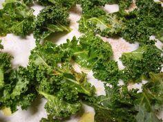 Garlicky Roasted Kale