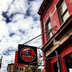Slows Bar-B-Q in Detroit, MI