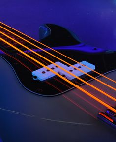 DR Strings - orange guitar strings.