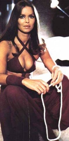 Major  Anya Amasova - Barbara Back - James Bond 007 - The Spy Who Loved Me 1977