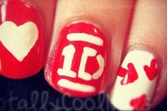 One Direction nails (: ❤