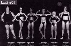 "Previous pinner wrote: ""Each one of these women is an Olympic athlete. Let's challenge the notion that thinness is the only indicator of health and fitness. Unless you have the build for it, exercise won't magically make you a size 2, but it will make you stronger and feel amazing no matter what your size."" :)"