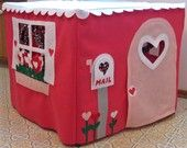 A Playhouse that fits over a card table