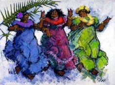 Ohana Dancers by Al Furtado at Maui Hands