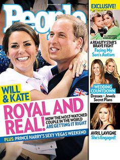 "ON NEWSSTANDS 8/24/12"" Inside William and Kate's Surprisingly Real Home Life. Plus: Avril is engaged and more"