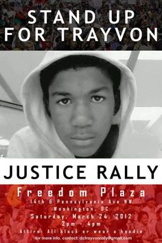 Justice for Trayvon Martin.