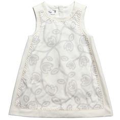 Baby Dior dress babydior3, dior girl, tulip print, dior tulip, dresses, babi cloth, dior dress, babi dior, design babi