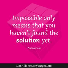 Join DBSA this month in raising expectations for mental health treatment: http://www.dbsalliance.org/TargetZero