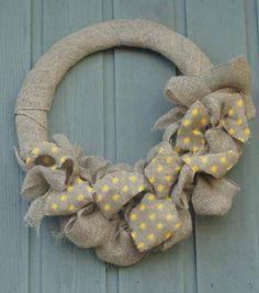 polka dots, wreath instruct, dot wreath