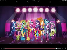 WALT DISNEY PICTURES & HASBRO STUDIOS presents - MY LITTLE PONY: Equestria Girls 2 Rainbow Rocks September 27th 2014