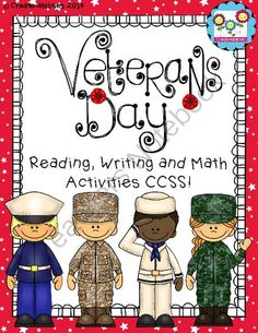 Veterans Day Mega Pack! from Create abilities on TeachersNotebook.com -  (54 pages)  - Veteran's Day Mega Pack!