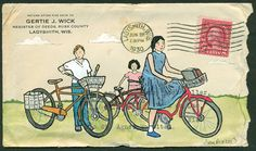 Mail art by Amy Rice