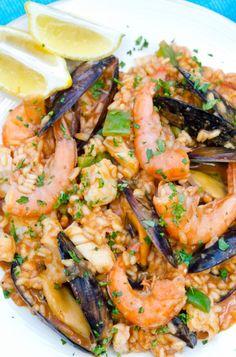 Portuguese Seafood Rice / Arroz de marisco