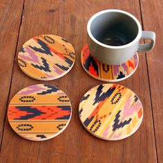 Care for coffee? Or maybe just have a coaster.