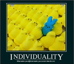 PEEPS + Motivational Posters = Happiness