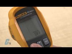 Check out our newest #GalcoTV video which highlights the Fluke Corporation 62 Max+ Series Infrared Thermometer!  Designed with your on‑the‑job needs in mind, the Fluke 62 MAX+ infrared thermometer is everything you'd expect from the experts in measurement tools.