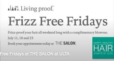 Free Blowout and Style at ULTA (July 11, 18, and 25th) - Money Saving Mom®