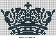 filet crochet crown