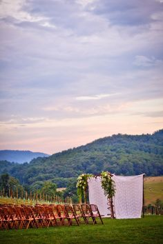 Awesome Ceremony Setting.  Photography by HollandPhotoArts.com