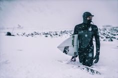 chris burkhard - surfing in the arctic :) super rad!