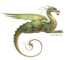 Zmaj - (Dragon) by ~getoart on deviantART