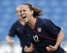 Indiana Native Lauren Cheney: Olympic Gold Medalist in Women's Soccer.