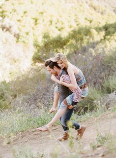 Californian outdoor engagement session