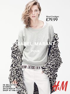 Isabel Marant for H&M by Karim Sadli | Glossy Newsstand