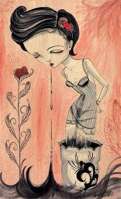 Juxtapoz Magazine - Reader Art: Sandi Calistro | Reader Art