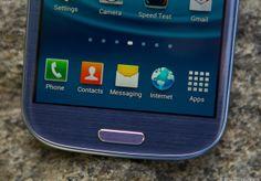 Samsung Galaxy S III via @CNET