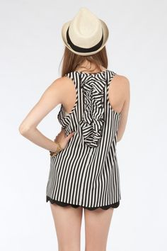 Loving this stripe tank from Everly on ShopSosie.com