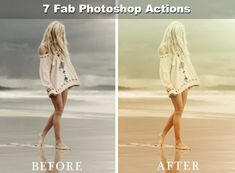 7 Fab Photoshop Actions