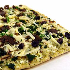 Greek-Style Flatbread Pizza