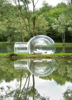 Sleep in a bubble, a coffin, a hamster wheel in these crazy hotels.
