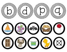 B, D, P, Q - BEGINNING SOUNDS SORT {PICTURES AND WORDS} - TeachersPayTeachers.com