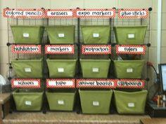 Mrs. Tilmon Says...: organization of classroom supplies