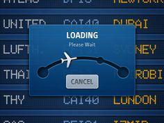 Dribbble - Flight Tracker for iPad by InnovationBox