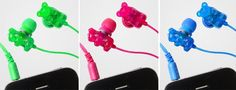 gummy bear earphones.
