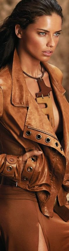 Luxe leather in brown
