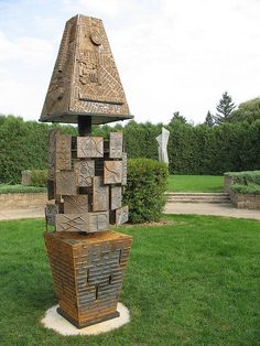 New Outdoor Sculpture by Ripon College, via Flickr