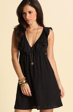 Chiffon Sleeveless Short Portrait Little Black #Dress Style Code:01298 $89