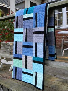 Modern quilt - in other colors