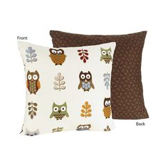 Night Owl Reversible Accent Throw Pillow Price: $22.99