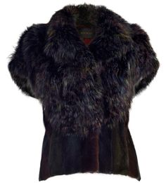 Hockley London-Owl Fox Fur Vest ashlee@justoneeye.com