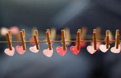 craft, idea, heart heart, inspir, valentin, fine motor, garland, diy, thing