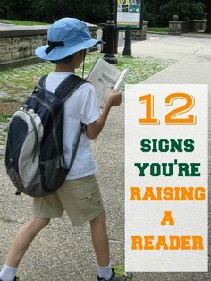 Are you raising your kids to be readers? Look for these signs.