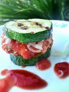 Zucchini Chicken Marinara Sliders